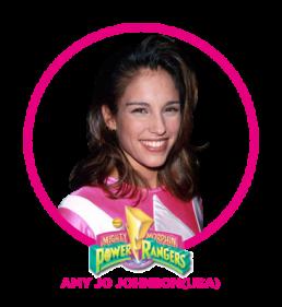 Amy Jo Johnson - Roze Powerranger