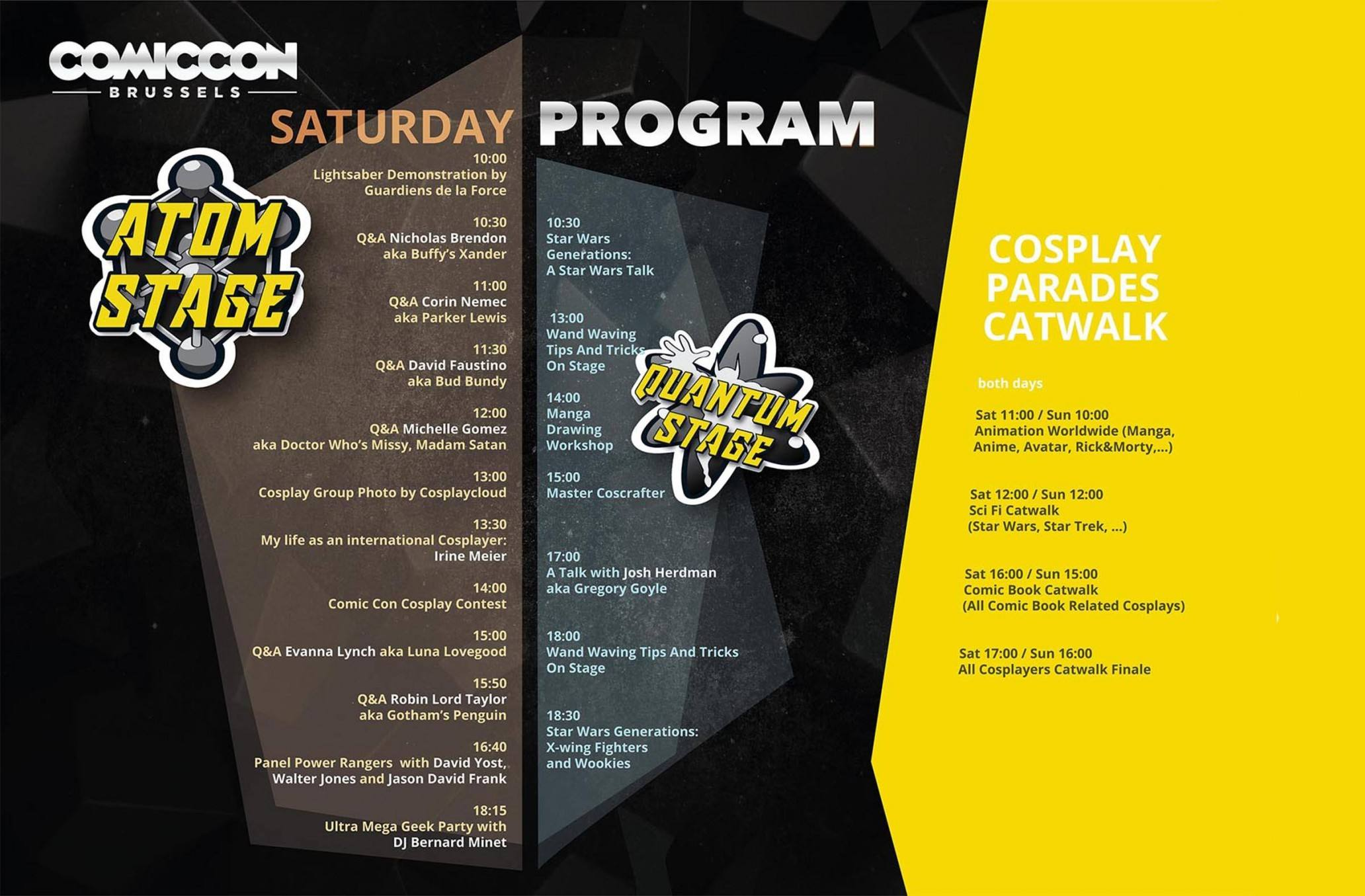 Program Saturday