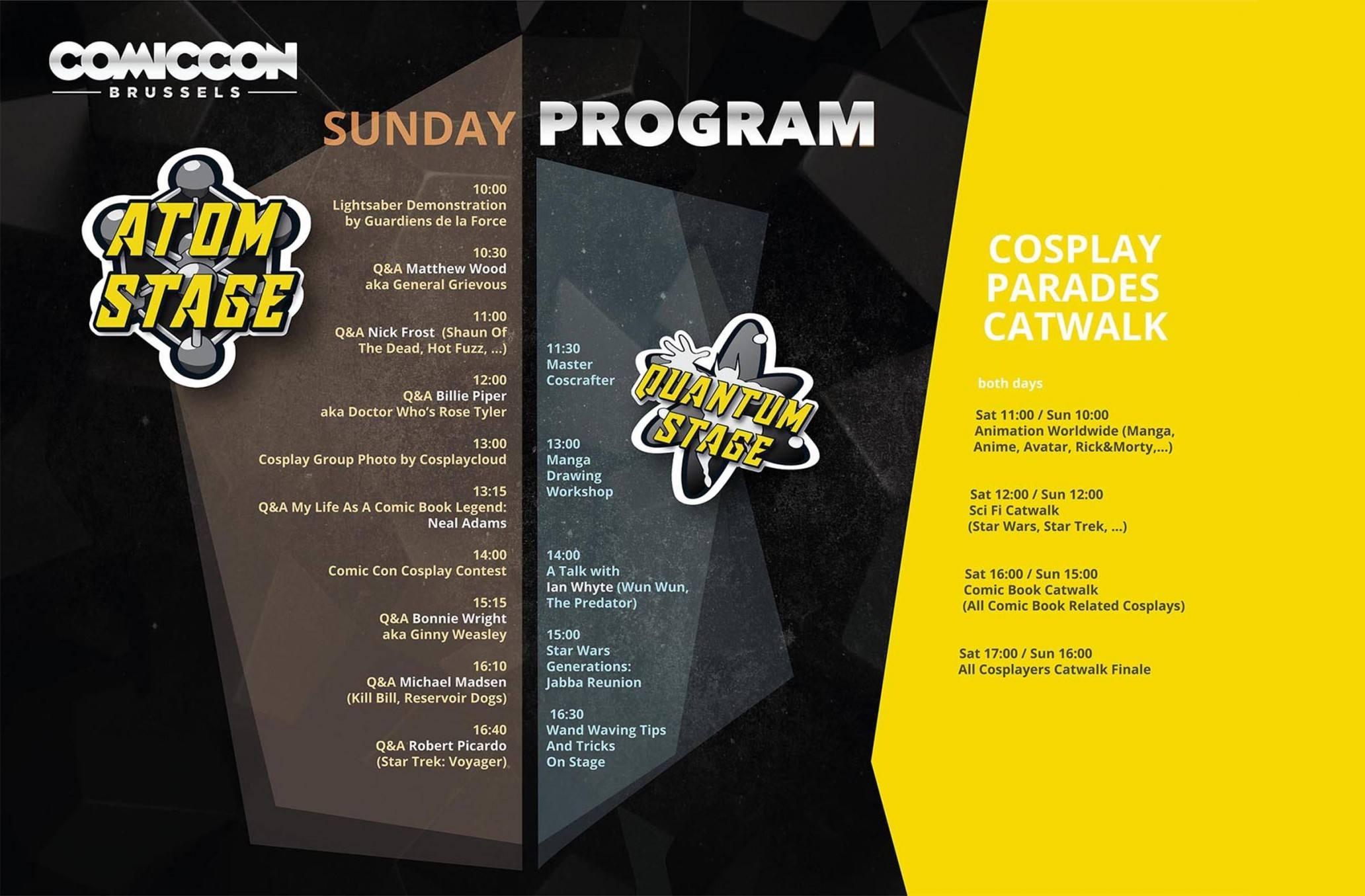 Program Sunday